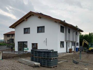 Wohnhaus-Neubau in Buchenberg