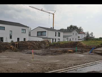 Wohnhaus-Neubau in Finning