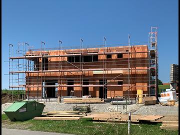 Wohnhaus-Neubau in Haldenwang