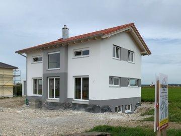 Wohnhaus-Neubau