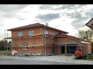 Wohnhaus-Neubau in Obermeitingen