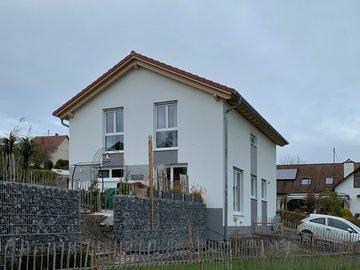 Wohnhaus-Neubau in Oberauerbach