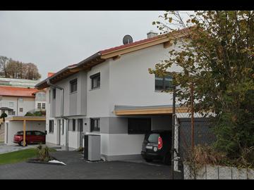 Doppel-Wohnhaus-Neubau in Buchenberg
