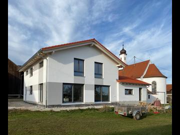 Wohnhaus-Neubau in Saulengrain bei Mindelheim