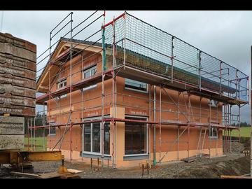 Wohnhaus-Neubau in Lauben