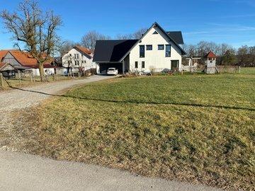 Wohnhaus-Neubau in Frechenrieden