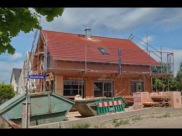 Wohnhaus-Neubau in Kirchdorf/Bad Wörishofen