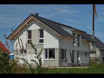 Wohnhaus-Neubau in Pless bei Memmingen