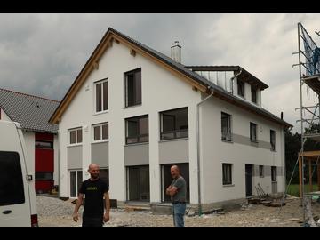 Doppelhaus-Neubau in Landsberg
