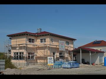Wohnhaus-Neubau in Mörgen
