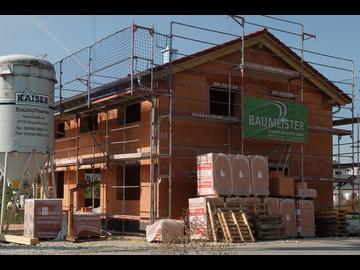 Wohnhaus-Neubau in Mindelheim