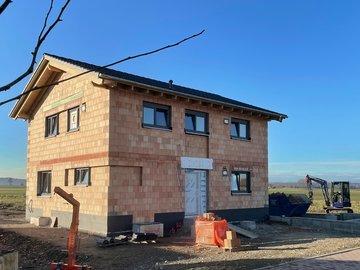 Wohnhaus-Neubau in Kirchdorf an der Iller