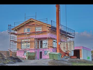 Wohnhaus-Neubau in Krugzell-Reicharten