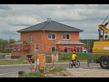 Wohnhaus-Neubau in Dettingen