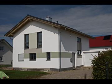 Wohnhaus-Neubau in Sontheim