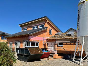 Wohnhaus-Neubau in Berkheim