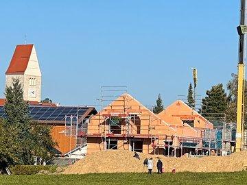 Wohnhaus-Neubau mit Garage in Untrasried
