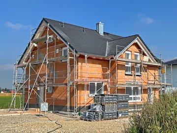 Wohnhaus-Neubau in Salgen