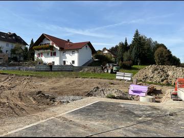 Wohnhaus-Neubau mit Doppelgarage-A