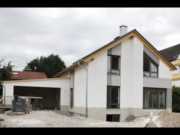 Wohnhaus-Neubau in Buxheim