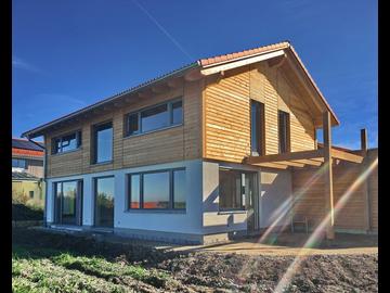 Wohnhaus-Neubau in Kimratshofen