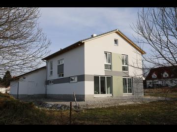 Wohnhaus-Neubau Margertshausen